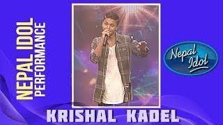 Krishal Kadel | Nepal Idol Performance | Timile Herda Kasailai | Nepal Idol Season 2 | Nepal Idol