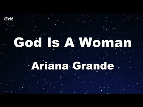 God is a woman - Ariana Grande Karaoke 【No Guide Melody】 Instrumental