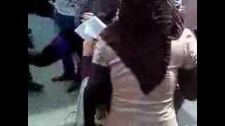 رقص بنات جامعة عراقيه
