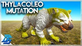 Thylacoleo Color Mutation , Twins , Breeding Montage! - Ark: Survival Evolved