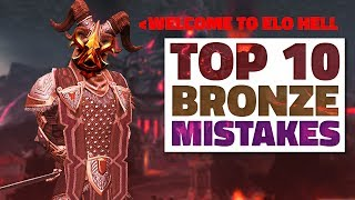 TOP 10 Mistakes Bronze Players Make & How To Fix Them! [SMITE]
