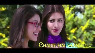 Jeene Laga Hoon Bollywood Sing Along   Ramaiya Vastavaiya   Girish Kumar, Shruti