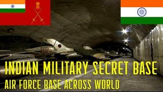 Top 5 Indian Military Secret Bases all over the world