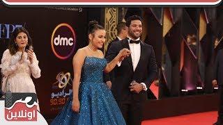 حسن الرداد يرقص مع فتاه من  زوي الاحتياجات الخاصه بمهرجان القاهرة