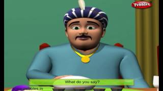 Birthday Party | 3D Birbal Stories For Kids in English | Akbar and Birbal Stories