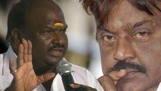 DMDK MLA Chandrakumar give deadline to Vijayakanth - Dinamalar Apr 5th 2016