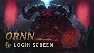 Ornn | Login Screen - League of Legends