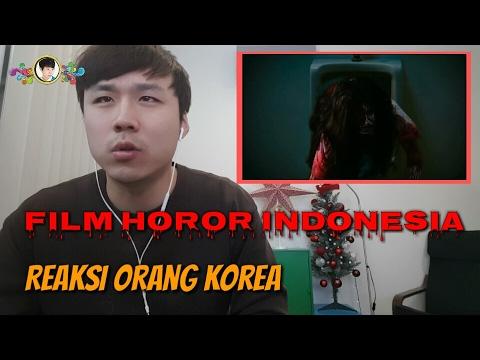 Reaksi Orang Korea Menonton Film Indonesia 인도네시아 영화 리액션