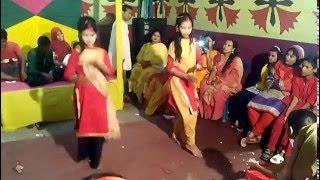 bangladeshi dance performance at village wedding 2016
