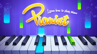 The best piano app for Android - Pianist HD Finger Tap Piano Tutorial