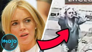 10 Celebrities Caught Breaking the Law on Camera