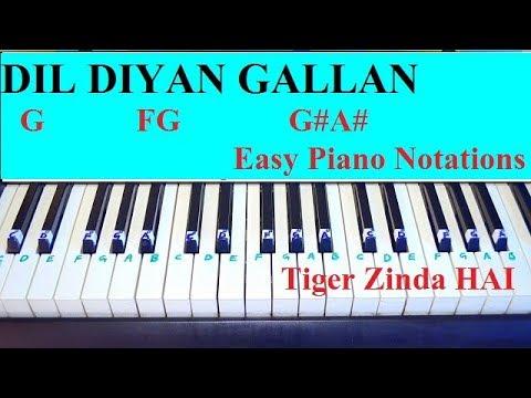 Xxx Mp4 Dil Diyan Gallan Piano Tutorial With Notations From Tiger Zinda Hai 3gp Sex