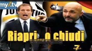 DirettaStadio 7Gold Juventus Roma 1-0 Crudeli contro tutti!