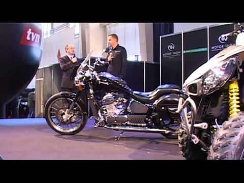 Poznań Motor Show 2011 Prezentacja Motocykla Junak