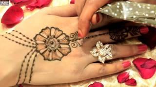 Dulhan Design HaathPhool Mehndi 2017|Easy Simple Beautiful Trendy  Haatho Ki Mehendi