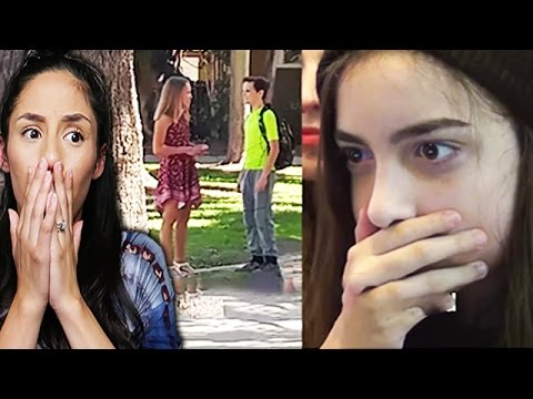 Young Girl Sets Up 13 Year Old Boyfriend To See If He'll Cheat! REACTION