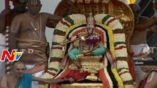 Tirumala Srinivasa Brahmotsavam | Lord Venkateswara on Chinna Sesha Vahanam