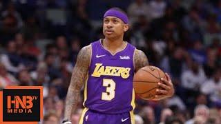 Los Angeles Lakers vs New Orleans Pelicans 1st Half Highlights / March 22 / 2017-18 NBA Season