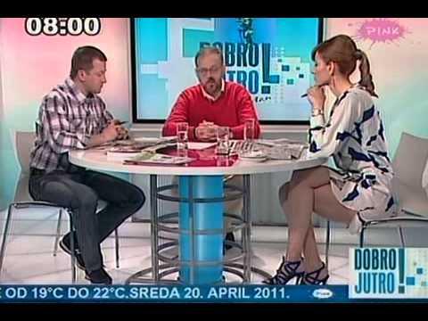Jovana Janković sexy jutro