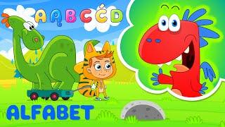Alfabet dla dzieci po polsku ze Smokiem Edziem - bajka edukacyjna dla dzieci