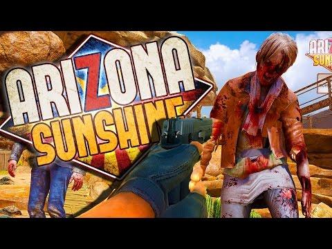 INSANE ZOMBIE SHOOTING IN VR! - Arizona Sunshine VR Gameplay
