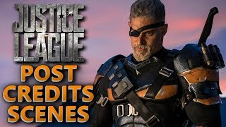 Justice League Official Two Post Credits Scenes Explained Breakdown Recap