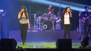 Tarika and Geeta performing at Mika Singh Singapore show March 2015, Produced by Azzah and Neera