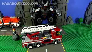 Lego Ninjago Fire Mech part 2