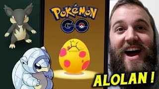 Hatching 9 More Alolan Eggs + My First Trade (New Dex Entry) - Pokemon Go