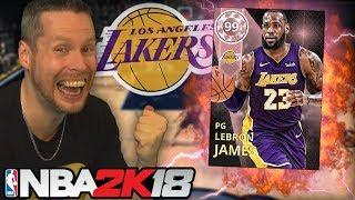 WE GOT LEBRON JAMES! NBA 2K18