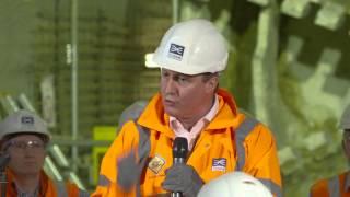 Crossrail Breakthrough: Tunnelling marathon completes