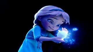 ¿Como obtuvo los poderes Elsa en Frozen?