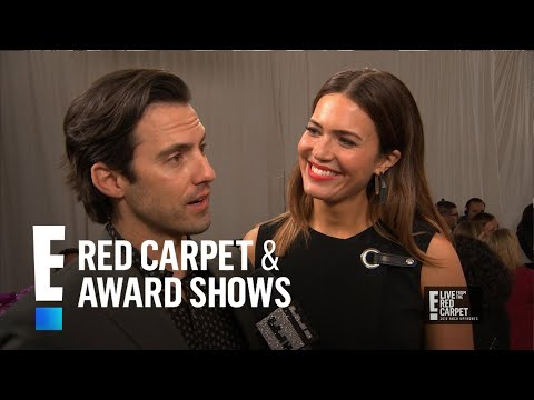 Mandy Moore & Milo Ventimiglia Talk Life Lessons From This Is Us E Red Carpet & Award Shows