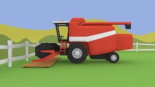 #Farm Machines, Tractors, Planters, Trailers - Constructions | Maszyny Rolnicze Budowa Bajka