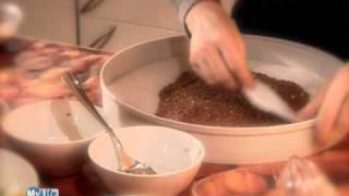 Crackers di semi di lino - Laura Cuccato - IL CRUDO È SERVITO