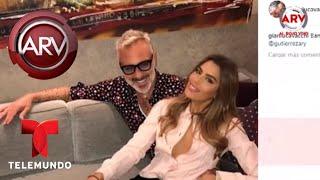 La foto de Ariadna Gutiérrez y Gianluca Vacchi que está provocando burlas | Al Rojo Vivo | Telemundo