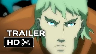 Justice League Throne Of Atlantis Official Trailer 1 2014 Dc Comics Animation Movie Hd