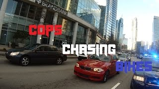Motorcycle Police Chases Compilation #5 - FNF