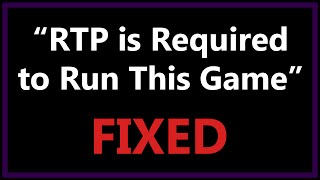 RTP is Required to Run This Game Fix - Blank Dream / RPG Maker