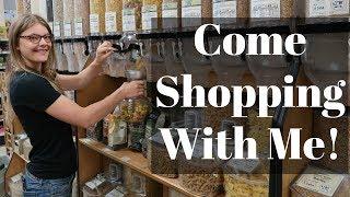 Zero Waste Grocery Shopping // LivingWasteFree
