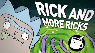 MORE Knock-off Rick and Morty Characters