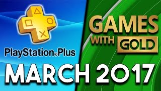 PlayStation Plus VS Xbox Games With Gold (March 2017)