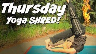 Day 4 - Intense Muscle Shredding Power Yoga Workout - 7 Day Power Yoga Challenge #7dayyogachallenge