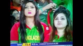 Hot cute Bangla Girl in India v/s Bangladesh match