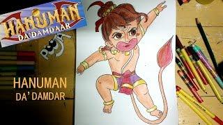 How To Draw Hanuman Da
