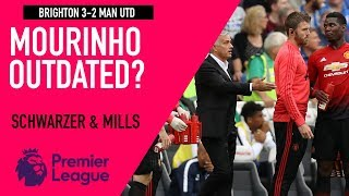 Mourinho's management style outdated? | Brighton 3-2 Man Utd | Astro SuperSport