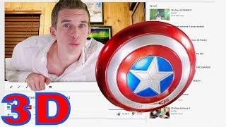 3D Video Extreme Captain America