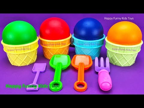 Download Play Doh Ice Cream Cups Surprise Eggs Minions Splashlings Zuru 5 Surprise Toys Chupa Chups Star Wars
