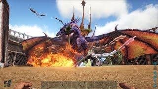 ARK: Survival Evolved - Cuộc đại chiến của Rồng (Fire Wyvern vs. Lightning Wyvern)