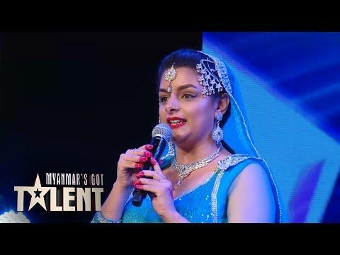 Xxx Mp4 Sanjana Auditions Myanmar S Got Talent 2018 3gp Sex